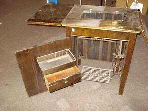 antique singer sewing machine cabinet+sew/machines Moorabbin Kingston Area Preview