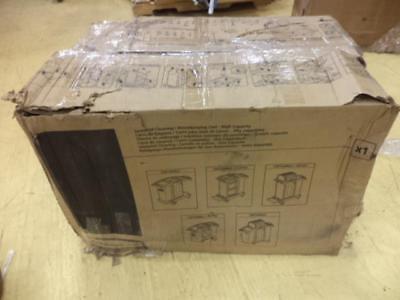 1 New Rubbermaid Black Microfiber Janitor Cart Fg9t7300bla Bsr