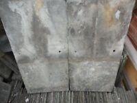 RECLAIMED ROOFING SLATES 20x10 GREEN WELSH DELABOLE