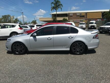 2010 Ford Falcon FG XR6 Silver 4 Speed Auto Active Select Sedan Winnellie Darwin City Preview