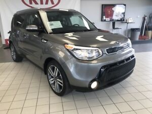 2016 Kia Soul SX LUXURY *NAV*LEATHER HEATED & COOLED FRONT SEATS