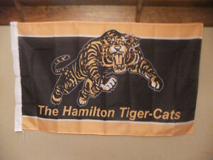 Hamilton Tiger Cats flags 3x5 new (and other CFL)