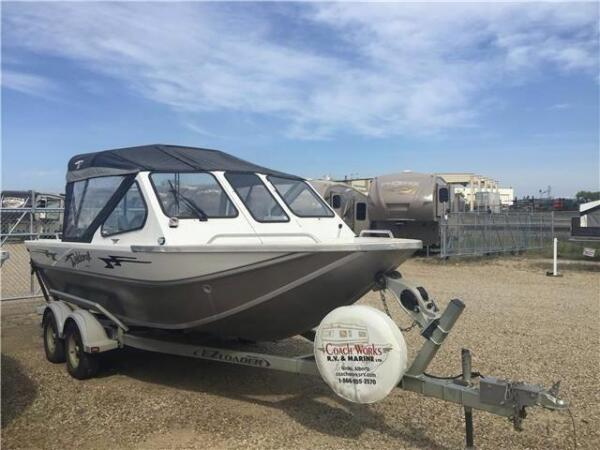 Used 2013 Weldcraft Sabre 19