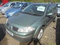 Renault Megane 1.6 VVT 115 PRIVILEGE SPORT TOURER (green) 2005