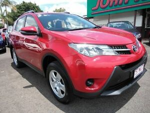 2015 Toyota RAV4 ZSA42R MY14 Upgrade GX (2WD) Red Continuous Variable Wagon Mount Gravatt Brisbane South East Preview