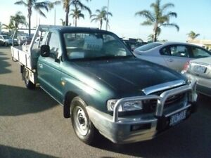 2003 Mazda Bravo B2600 DX 4x2 Green 5 Speed Manual Cab Chassis Cheltenham Kingston Area Preview