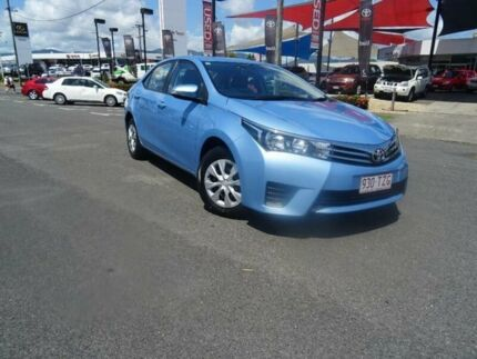 2014 Toyota Corolla ZRE172R Ascent Blue 7 Speed CVT Auto Sequential Sedan Westcourt Cairns City Preview