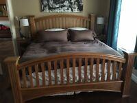 2-yr old king size bed frame