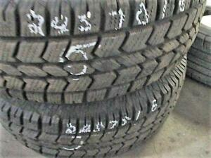 245/75 R16 ARTIC CLAW WINTER XSI USED TIRES (SET OF 2) - 80% TREAD