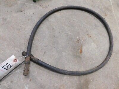 Hydraulic Hose Approximately 3 Long Tag 153