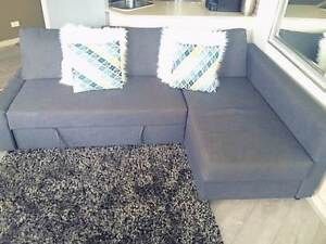 3 Seater Lounge, double bed & storage chaise all in one. $650 Ryde Area Preview
