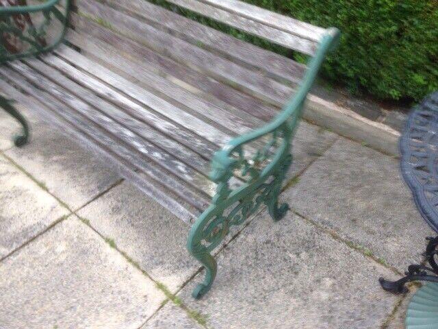 Stupendous Vintage Garden Bench In Old Kilpatrick Glasgow Gumtree Gamerscity Chair Design For Home Gamerscityorg