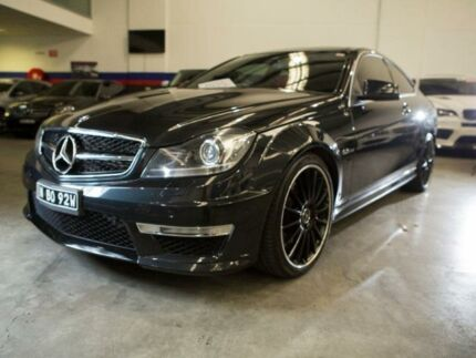 2012 Mercedes-Benz C63 C204 AMG Black Sports Automatic Coupe