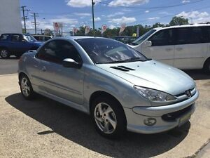 2004 Peugeot 206 Automatic Blue 4 Speed Automatic Convertible