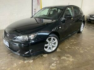 2008 Subaru Impreza G3 MY09 RS AWD Black 4 Speed Sports Automatic Hatchback South Melbourne Port Phillip Preview