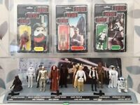 WANTED VINTAGE STAR WARS FIGURES / COLLECTIONS / PLAYSETS STARWARS. £££ PAID!