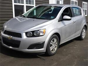 2013 Chevrolet Sonic LT, AUTO, LOADED, NEW MVI
