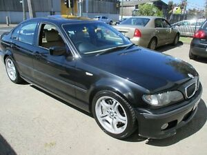 2004 BMW 330I E46 MY2004 Sport Steptronic Black 5 Speed Sports Automatic Sedan Tottenham Maribyrnong Area Preview