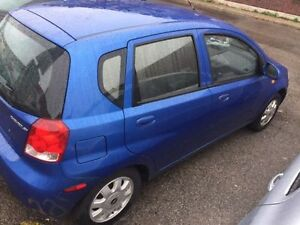 2004 Chevrolet Aveo Hatchback