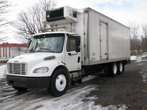 FREIGHTLINER REEFER BOITE 24 PIEDS 2005 INSPECTION SAAQ 1 ANS
