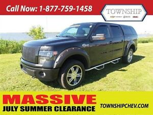 2013 Ford F-150 - Crew Cab - FX4 - Leather Interior - Loaded!!