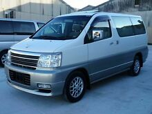 2001 Nissan Elgrand E50 X-Version White 4 Speed Automatic Wagon Taren Point Sutherland Area Preview