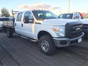 "2011 Ford Super Duty F-350  XL with 9' X 7'7"" Flat Deck"