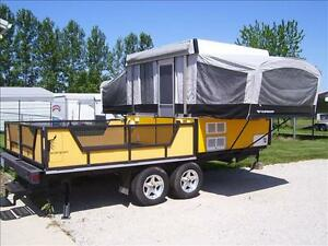 10' Pop Up Truck Camper and also a Tent Trailer