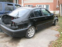 2001 BMW 3-Series Berline pour pieces!