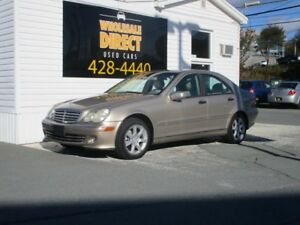 2005 Mercedes-Benz C-Class SEDAN C240 4MATIC 2.6 L