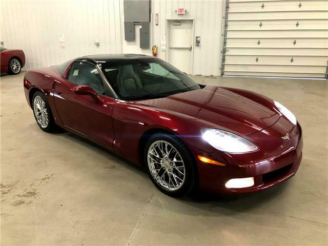 2006 Burgundy Chevrolet Corvette Coupe  | C6 Corvette Photo 6