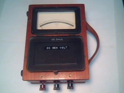 1940s Megger Voltmeter D.c. 15150 Evershed Vignoles Vintage Test Equipment