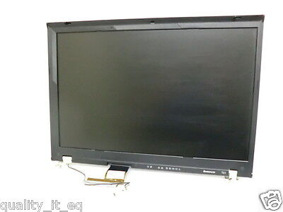 "IBM ThinkPad T61 15.4"" WXGA LCD 42T0420 Complete Top - Matte , used for sale  Plano"