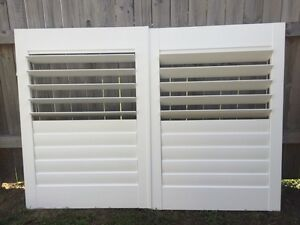 white hardwood plantation shutters North Narrabeen Pittwater Area Preview