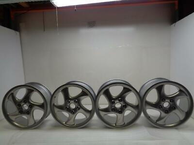 Porsche Turbo Twist Rim FULL SET 7.5X18 ET50 10Jx18 ET65 REFINISHED OEM SR (A)