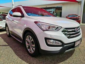 2015 Hyundai Santa Fe HIGHLANDER DM2 White Automatic Wagon Mackay Mackay City Preview