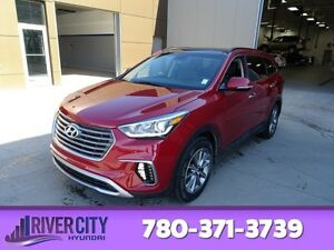 2017 Hyundai Santa Fe XL AWD LUXURY 7PASS Navigation (GPS),  Lea