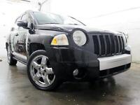 2007 Jeep Compass Limited 4X4 CUIR TOIT MAGS CHROME 137,000KM