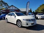 2008 Honda Accord MY06 Upgrade Euro Pearl White 5 Speed Sequential Auto Sedan Mount Hawthorn Vincent Area Preview