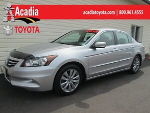 2012 Honda Accord Sedan EX-L V6 - Leather, Cruise, Heated Seats!