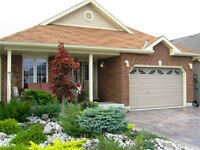 Immaculate bungalow with no rear neighbours in adult community