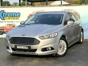 2015 Ford Mondeo MD Trend Silver 6 Speed Sports Automatic Hatchback Campbelltown Campbelltown Area Preview