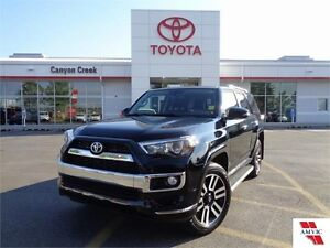 2015 Toyota 4Runner SR5 V6 LIMITED CLEAN CARPROOF ONLY 6,019KMS!