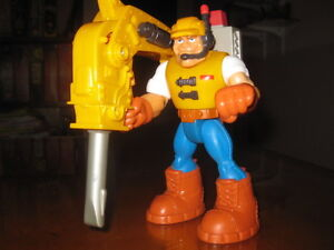 Jack Hammer, Construction Expert - Fisher Price #77082 - Rescue