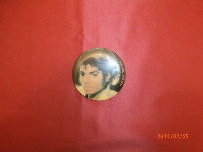 Vintage 80's Michael Jackson Pin Macaroon