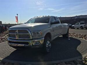 2017 RAM 3500 DUALLY LARAMIE CREW CAB DIESEL GO BIG OR STAY HOME