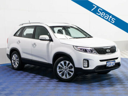 2014 Kia Sorento XM MY14 SLi (4x2) White 6 Speed Automatic Wagon East Rockingham Rockingham Area Preview