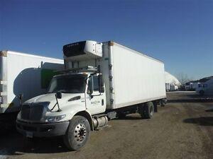 2012 International 4300 4x2, Used Reefer Van