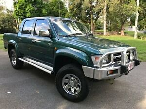 2000 Toyota Hilux RZN169R SR5 Green 5 Speed Manual Utility Herston Brisbane North East Preview