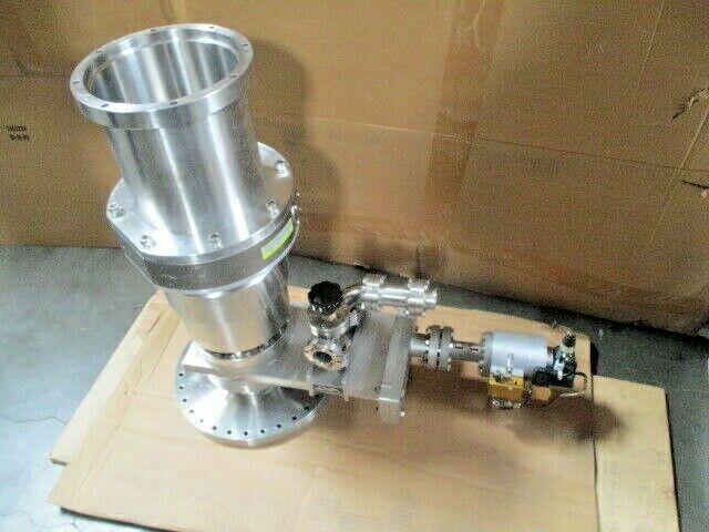 VAT Gate Valve, Seiko Seiki STP-X600A Turbo Molecular Pump High Vacuum Isolation